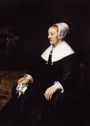"""""""O Retrato de Catrina Hooghsaet"""", do holandês Rembrandt - Reprodução"""