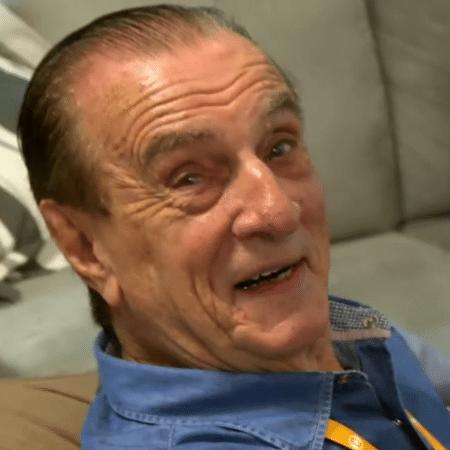 Orlando Drummond se recupera em casa após cair da escada - Reprodução/TV Globo