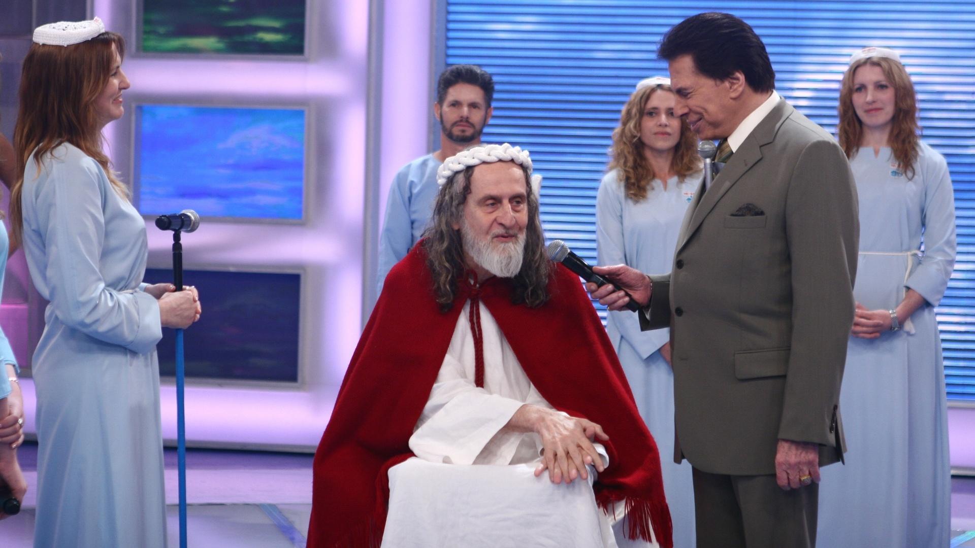 2011 - Silvio Santos entrevista Inri Cristo
