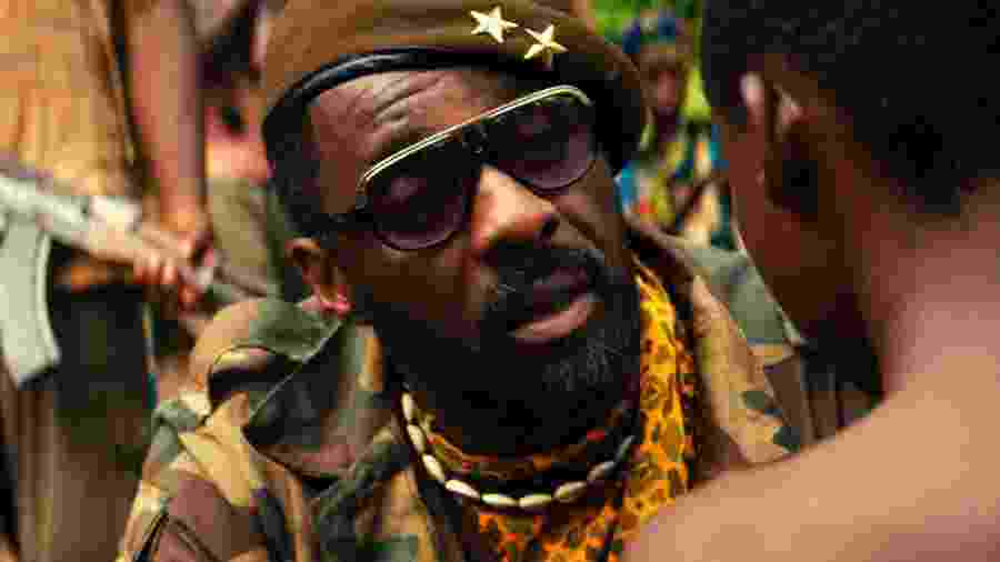 "Idris Elba em ""Beasts of No Nation"" - Divulgação"