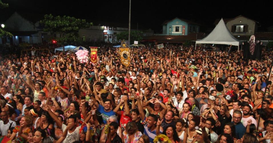 O Carnaval de Olinda (PE) teve largada com o show de Alceu Valença na noite de quinta-feira, 4, que arrastou grande quantidade de foliões