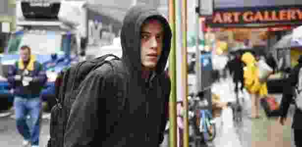 """O egípcio-norte-americano Rami Malek na série """"Mr. Robot"""" - Reprodução"""
