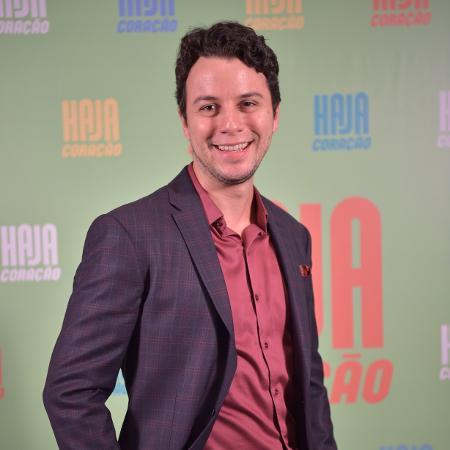 """Johnnas Oliva interpretou Enéas na novela """"Haja Coração""""; com a paralisação do setor audiovisual, o ator ficou sem renda  - Caiuá Franco/TV Globo"""