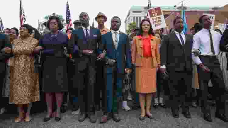 """Cena do filme """"Selma: Uma Luta Pela Igualdade"""" (2014), de Ava DuVernay - Reprodução - Reprodução"""