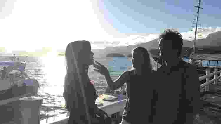 Dirigidos por Natália Grimberg, Alice e Humberto gravaram no litoral - Divulgação - Divulgação