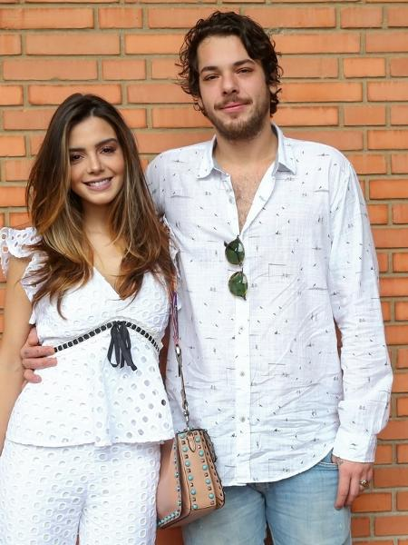 Giovanna Lancellotti e Gian Luca Ewbank terminaram o namoro no fim do ano passado - Manu Scarpa/BrazilNews