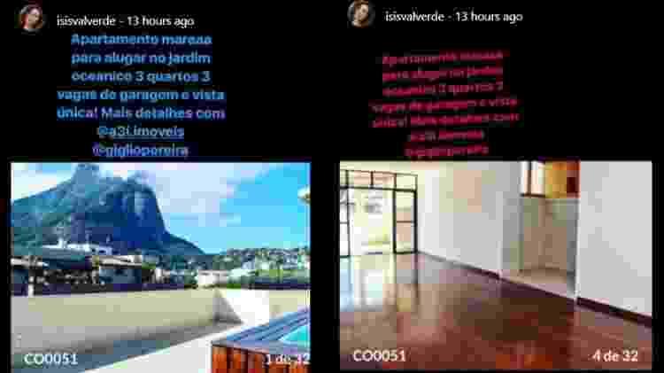 Atriz Isis Valverde anuncia apartamento no Instagram - Reprodução / Instagram