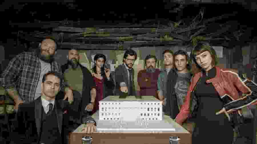 """Personagens de """"La Casa de Papel"""" - Divulgação"""