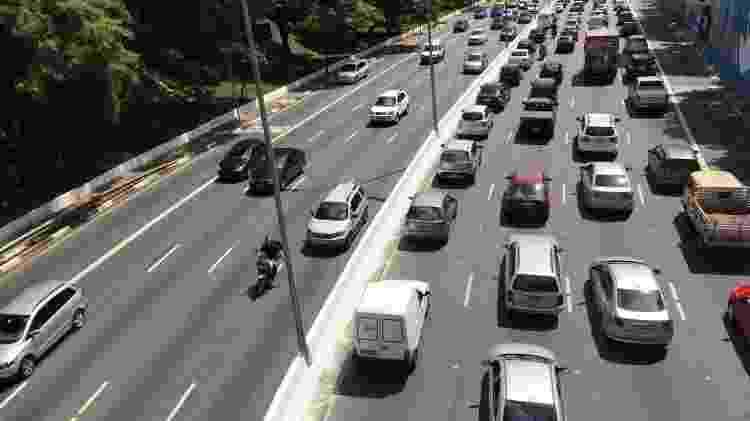 Velocidade média trânsito Youse - Paulo Pinto/Fotos Públicas - Paulo Pinto/Fotos Públicas