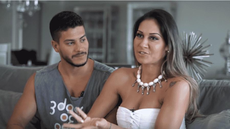 Arthur Aguiar e Mayra Cardi - Reprodução/YouTube