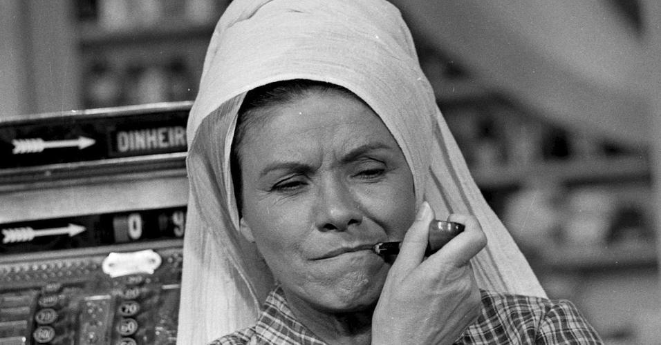 """A atriz tambéu deu vida à truculenta Maria Aparadeira em """"Saramandaia"""" (1976)"""