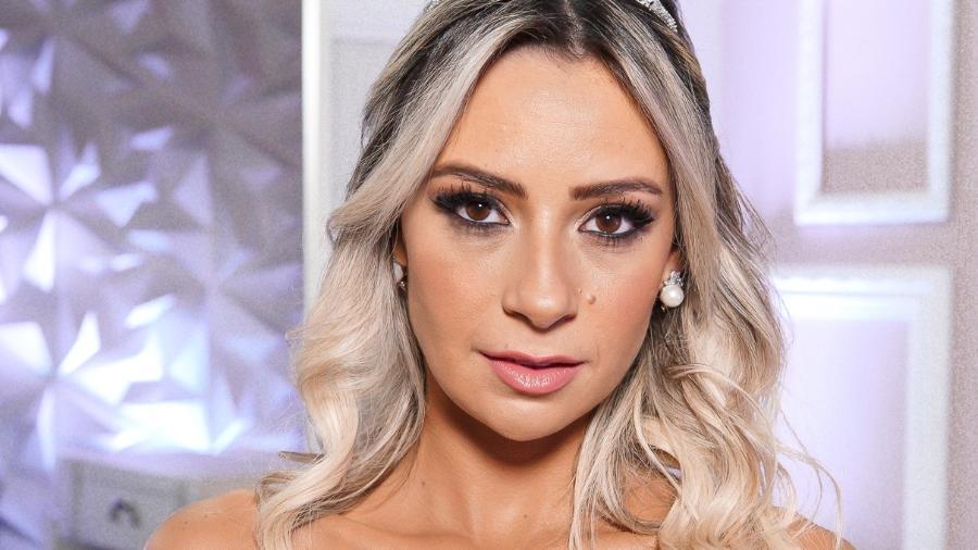 """Flavia Monteiro, bailarina de Silvio Santos, se casa no programa """"Fábrica de Casamentos"""", do SBT - Victor Silva/SBT"""