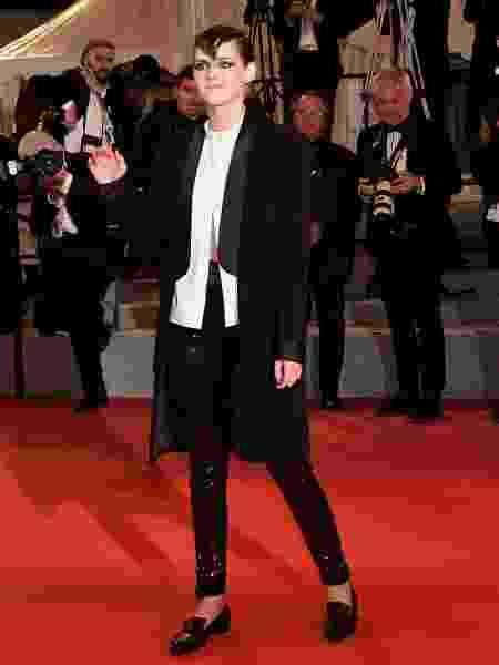 Kristen Stewart de mocassim em Cannes - Getty Images - Getty Images