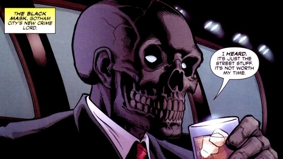 Máscara Negra, personagem das HQs do Batman - Reprodução