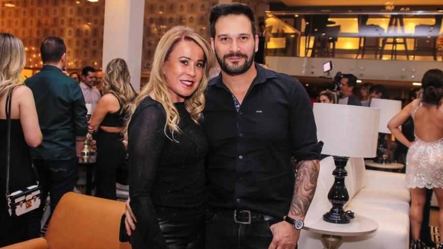 Zilu e o namorado Marco Ruggiero - Thiago Duran/AgNews