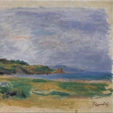 Detalhe da obra de Pierre-Auguste Renoir - Reprodução
