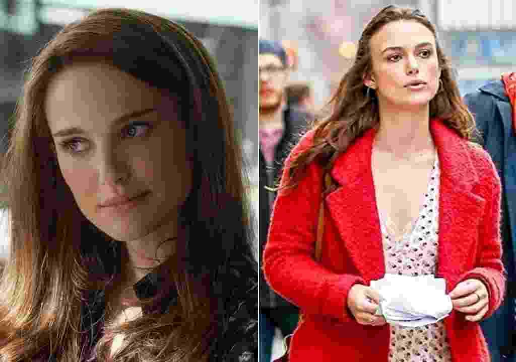 Atrizes Natalie Portman (à esquerda) e Keira Knightley - Reprodução