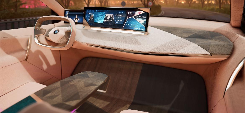 Cabine do conceito Vision iNext estará pronta para teste durante feira de tecnologia - Divulgação