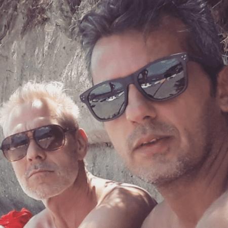 Nico Puig e o marido, Jeff Lattari - Reprodução/Instagram