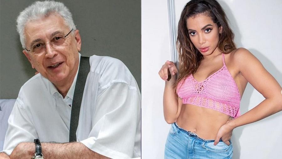 Aguinaldo Silva defende Anitta no Twitter - Reprodução/Instagram