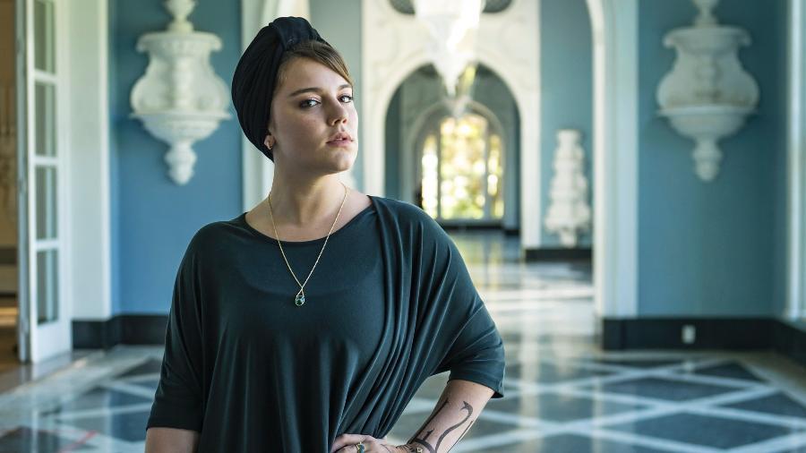 "Alice Wegmann, a protagonista de ""Órfãos da Terra"" - Paulo Belote/TV Globo"