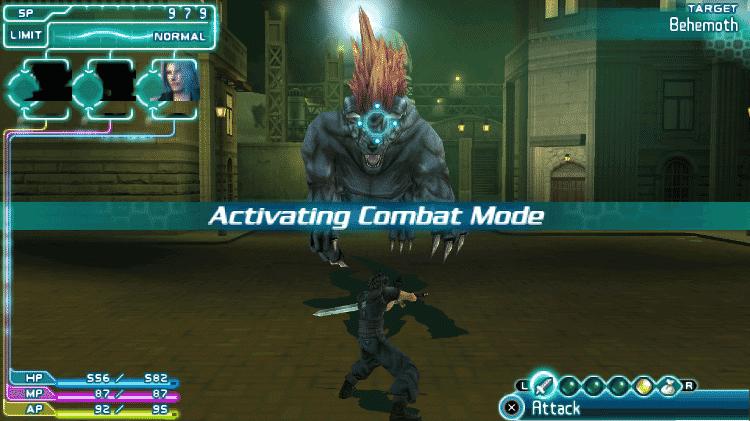 Crisis Core: Final Fantasy VII - Imagem - Reprodução - Reprodução