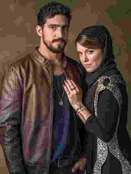 Renato Goés e Alice Wegmann - Paulo Belote/TV Globo - Paulo Belote/TV Globo