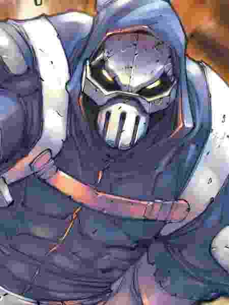 O vilão Treinador, nos quadrinhos - Reprodução