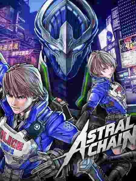 Astral Chain cover - Divulgação - Divulgação