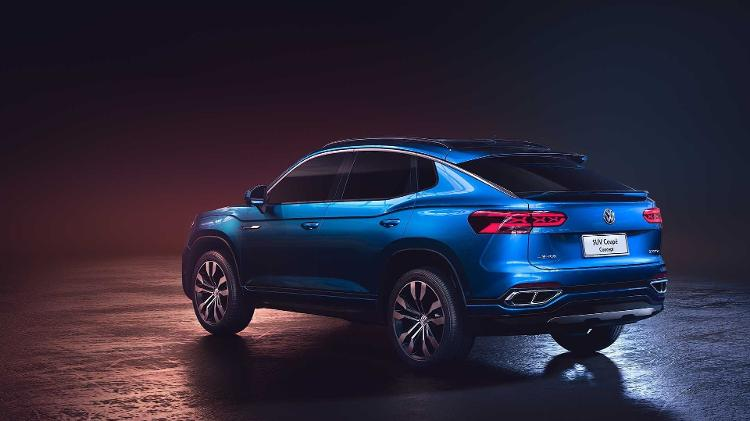 Modelo chinês exibe estilo semelhante ao do SUV cupê pequeno derivado do Polo que a VW lança no Brasil em 2020 - Divulgação