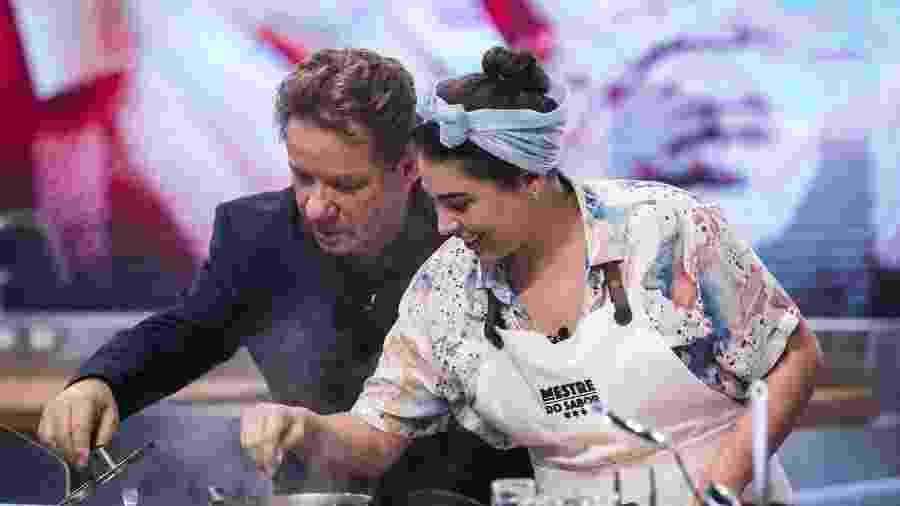 Raissa Ribeiro, em estreia no Mestre do Sabor - Globo/Victor Pollak  Prato de entrada