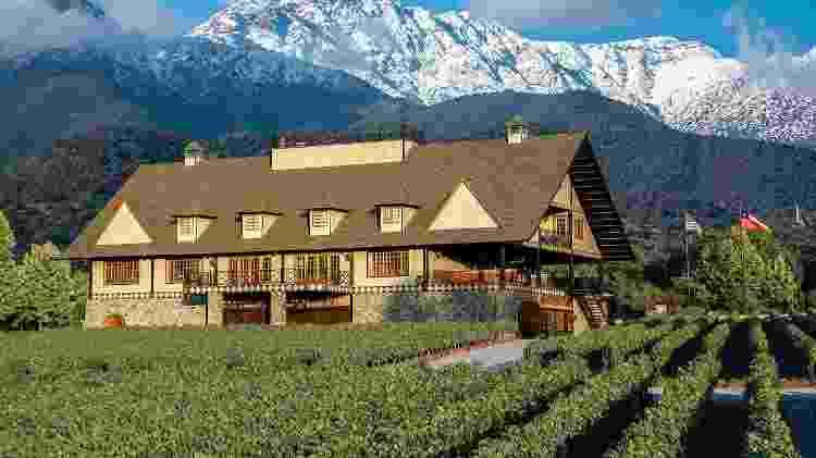 A sede da Alyan Wines, em Pirque, no Chile - Divulgação - Divulgação