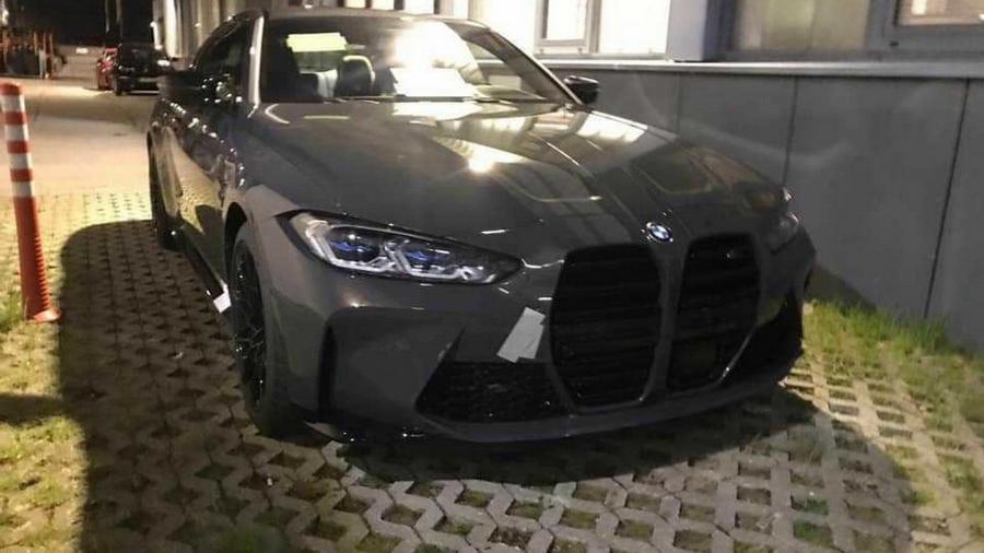 Foto vazada do novo BMW M4 - Reprodução