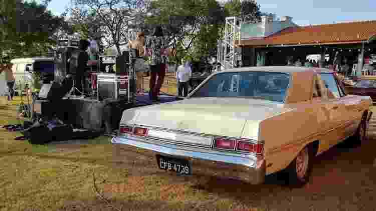 Dodge Magnum 1979 Raul Seixas Alexandre Badolato coleção traseira - Arquivo pessoal - Arquivo pessoal