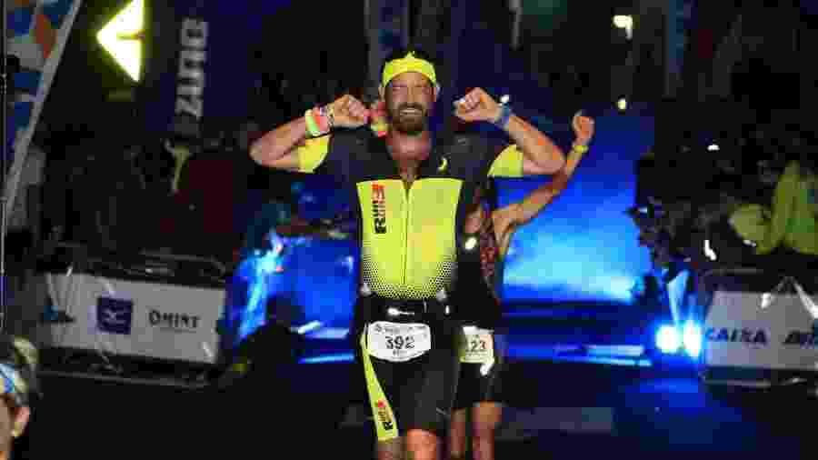 David Grinberg teve um linfoma bastante agressivo e superou a doença fazendo um tratamento planejado como se fosse o treino para uma competição de triatlo - Arquivo pessoal