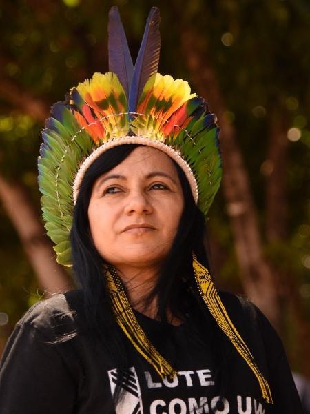 Chirley Pankará, educadora, co-deputada e liderança indígena, participa de mesa sobre qualidade de vida nas cidades - Divulgação