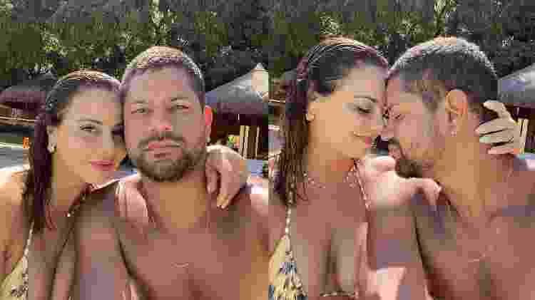 Viviane Araujo compartilhou momento romântico nas redes sociais - Reprodução/Instagram - Reprodução/Instagram