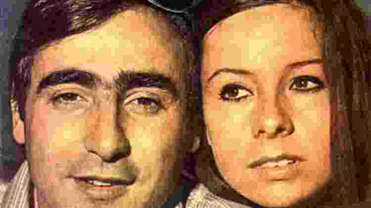 """Luis Gustavo e Débora Duarte em """"Beto Rockfeller"""" - Reprodução - Reprodução"""
