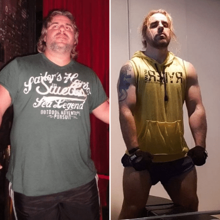 How I lost weight - Rodrigo - Instagram reproduction @duplodesafio - Instagram reproduction @duplodesafio