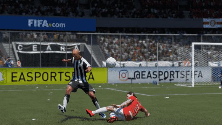 FIFA 21 Goiteira Ceará - Reprodução/START - Reprodução/START