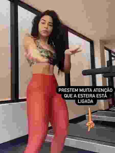 Elana Valenaria publicou vídeo no Instagram - Reprodução/Instagram @elana.valenaria