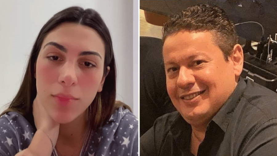 Pétala Barreiros acusou nas redes o ex, Marcos Araújo, de agressão - Reprodução