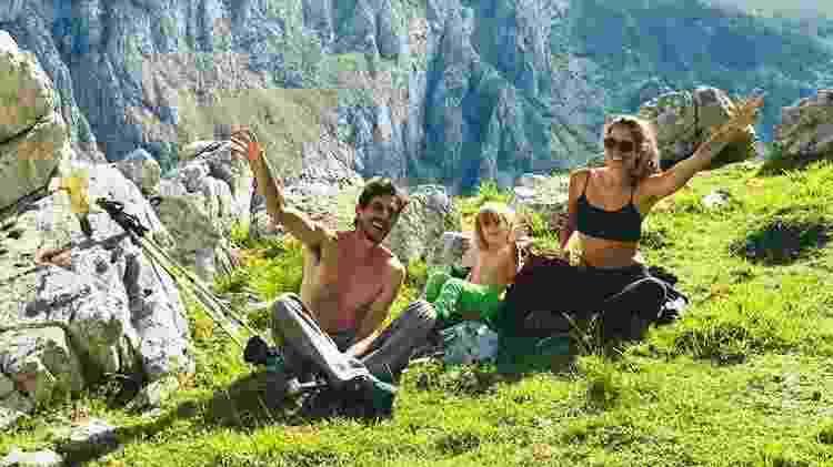 Família na Espanha - Arquivo pessoal - Arquivo pessoal