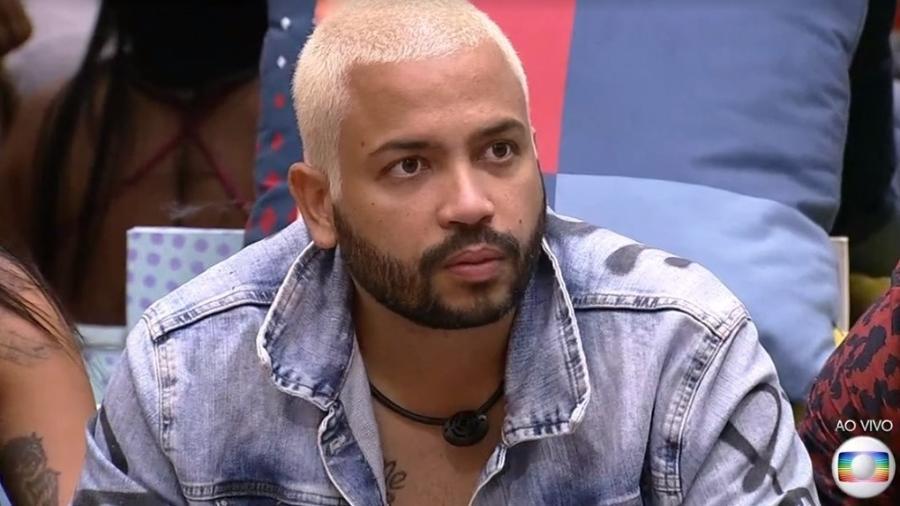 Projota foi eliminado ontem no BBB 21 - Reprodução/ Globoplay
