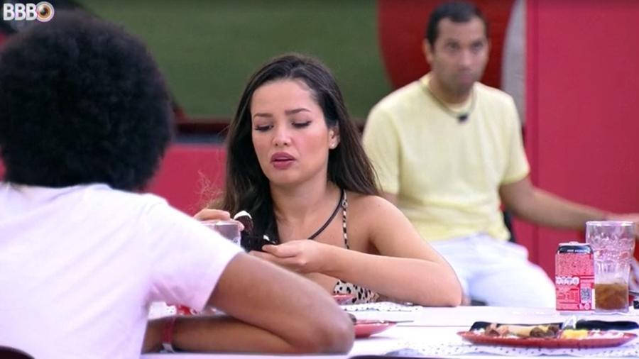 BBB 21: Juliette conversa com brothers durante almoço especial - Reprodução/ Globoplay
