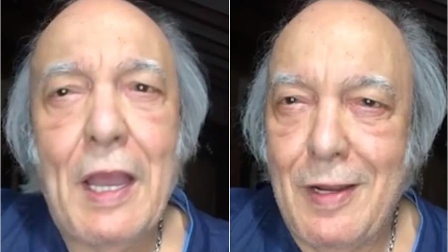 Erasmo Carlos homenageia Roberto Carlos pelos seus 80 anos - Reprodução/Jornal Extra
