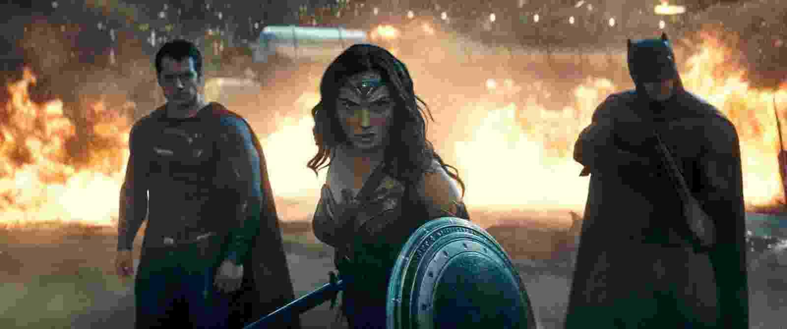 Cena do filme ''Batman vs Superman: A Origem da Justiça'' - Divulgação