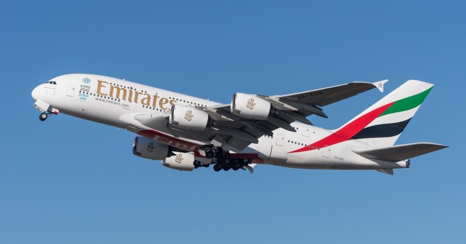 Para chegar a Dubai, o adolescente invadiu um avião da companhia Emirates