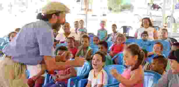 Crianças de Andrequicé (MG) se envolvem com a literatura de Guimarães Rosa o ano inteiro - Leonardo Alvares/Samarra - Leonardo Alvares/Samarra