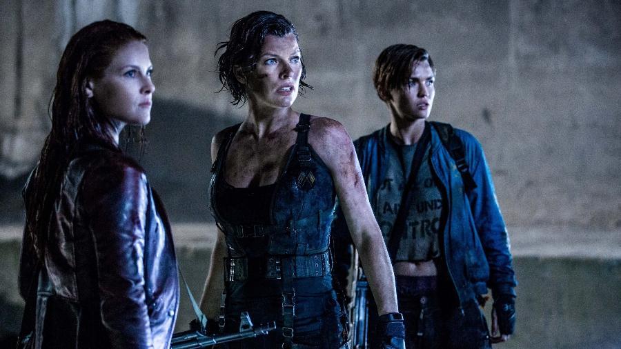 """Cena do filme """"Resident Evil: O Capítulo Final"""" (2016), de Paul W.S. Anderson - Divulgação"""